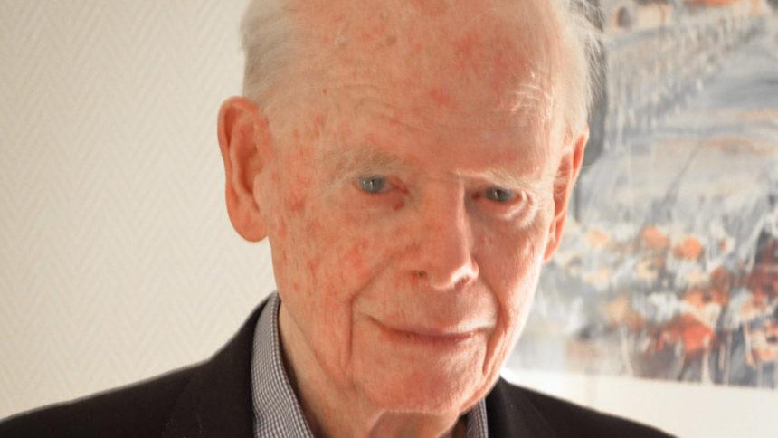 Der Sachsenhausen-Überlebende Bernt Lund.