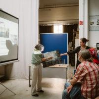 Präsentation des Projekts auf der Langen Nacht der Wissenschaften 2018