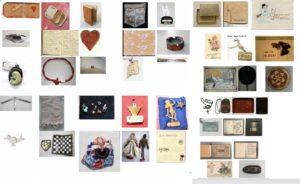 Verschiedene Artefakte aus den Sammlungen
