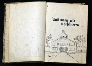 Seite des Liederbuchs